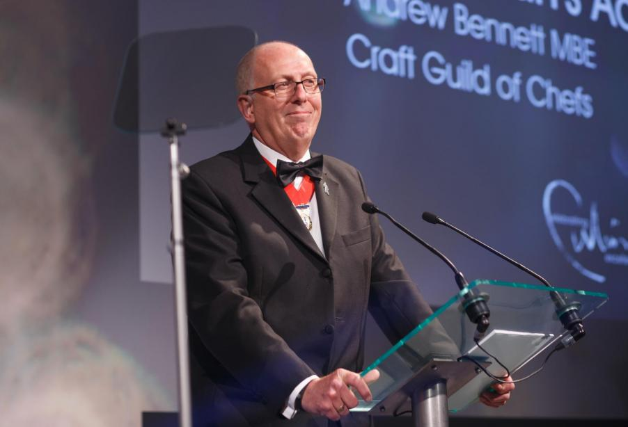 Andrew Bennett MBE, Craft Guild of Chefs chairman