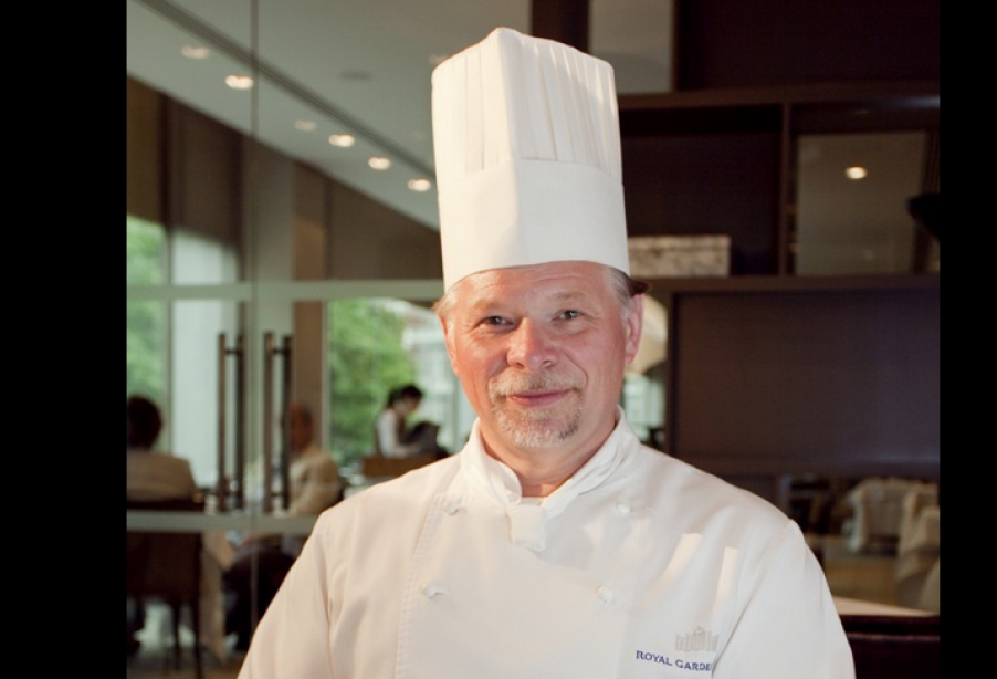Steve Munkley vice president of the Craft Guild of Chefs