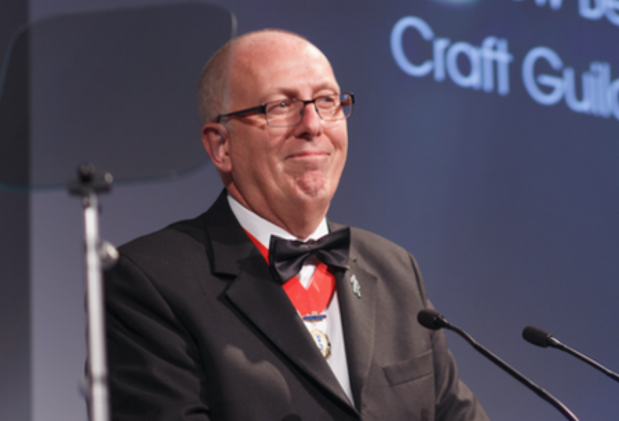 Former Craft Guild of Chefs chairman Andrew Bennett